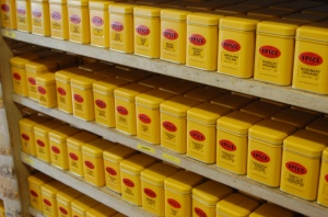 Spice Shop Shelf