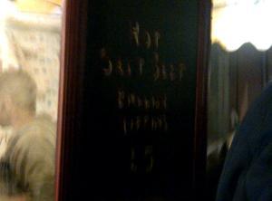 Salt Beef from Mishkin's
