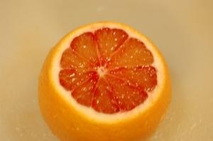 Juicy blood orange