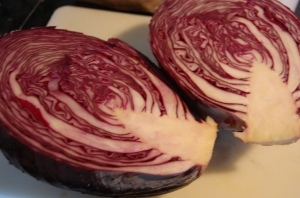 Bright Red Cabbage