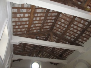 Terracotta Tiles and Wooden Beams